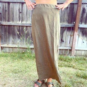 [michael stars] cotton maxi skirt/sizeS